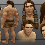 wow revamped human male model-3