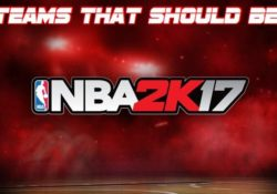 5 teams should be in 2k17