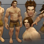 wow revamped human male model-2