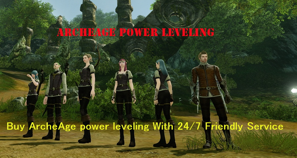 Buy Archeage Power Leveling